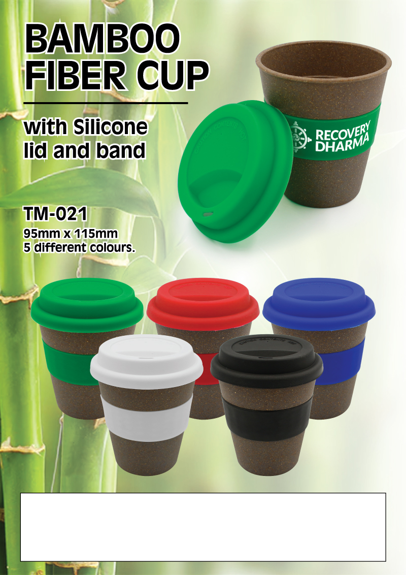 Bamboo Fiber Cups Promotional Flyer