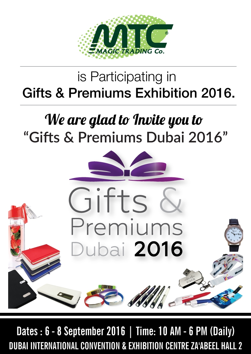 Gift and Premiums Dubai 2016