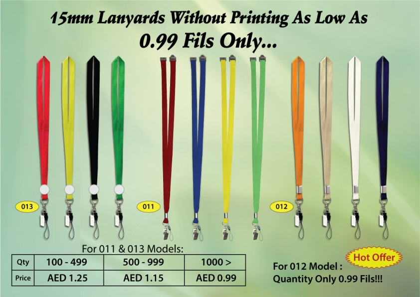 Lanyards Offer