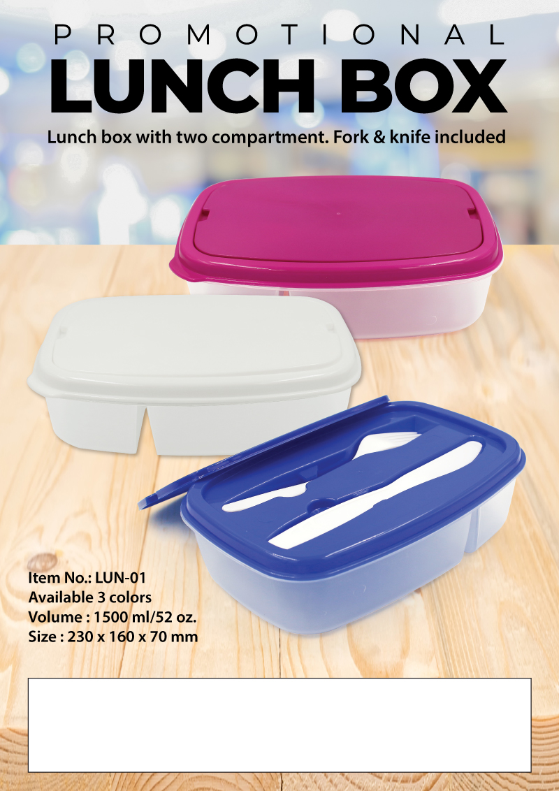 Lunch Box Promotional Flyer