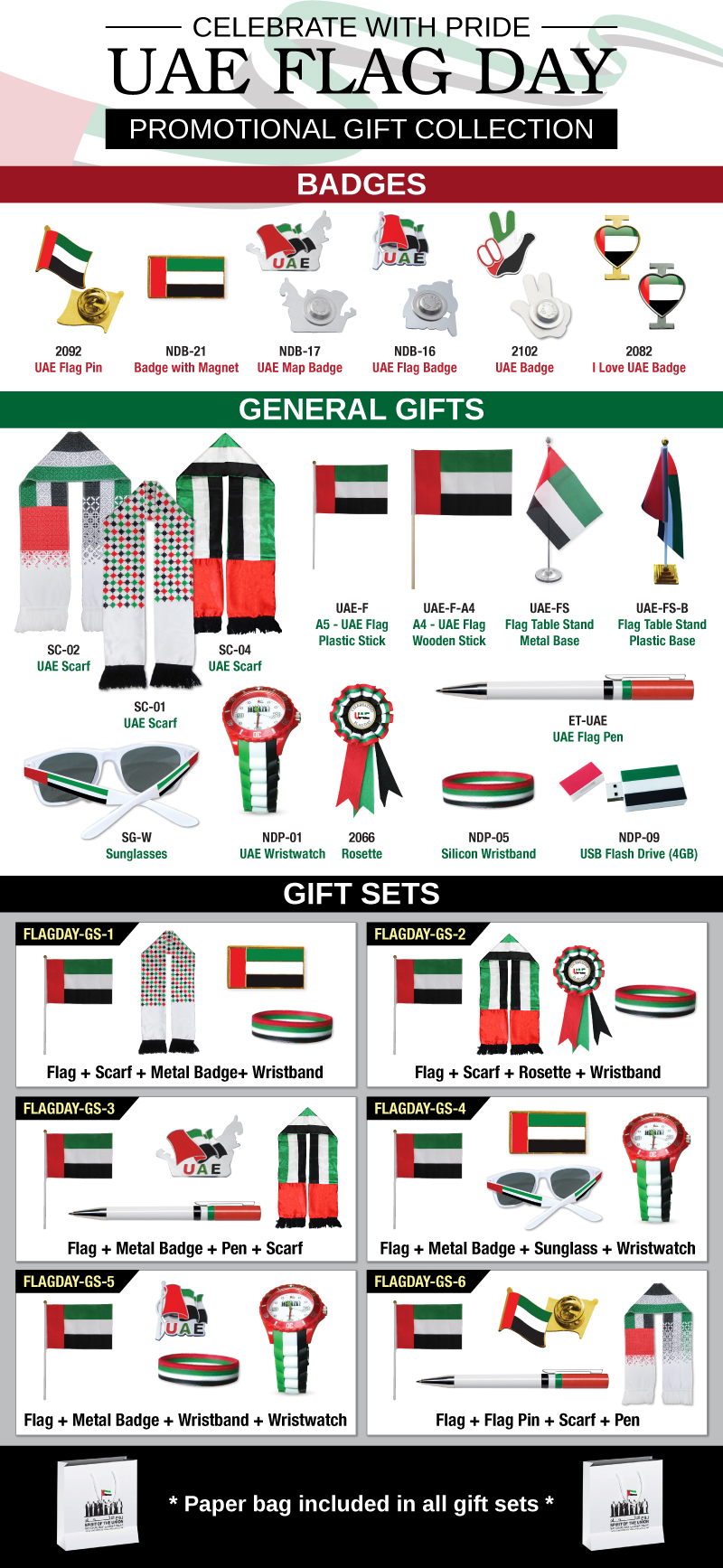 UAE Flag Day Promotions