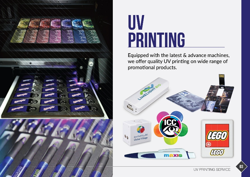 UV Printing Service UAE, Middle East
