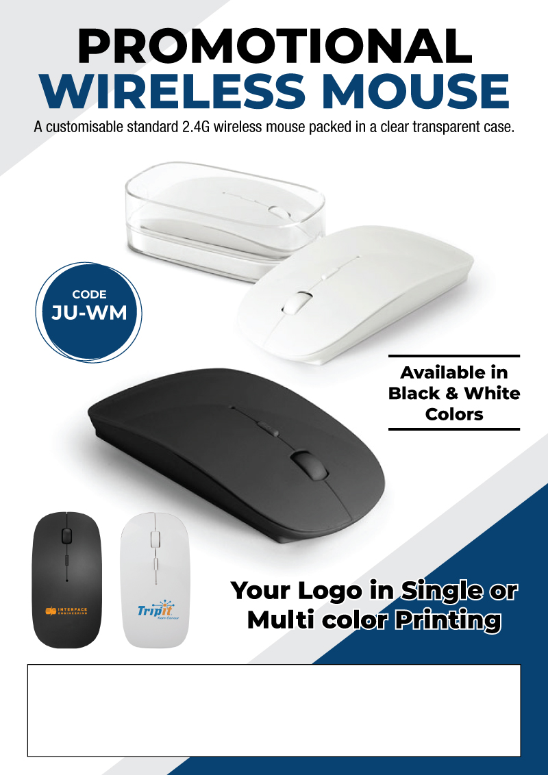 Wireless Mouse Promotional Flyer