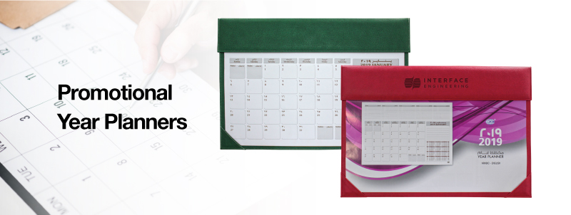Promotional Year Planners