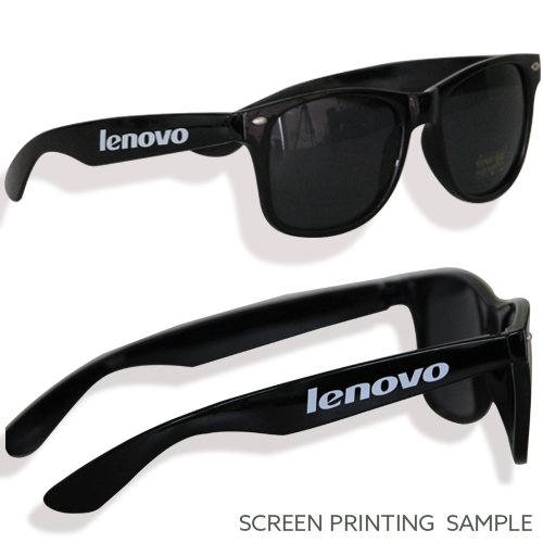 Sunglass Screen Printing Sample