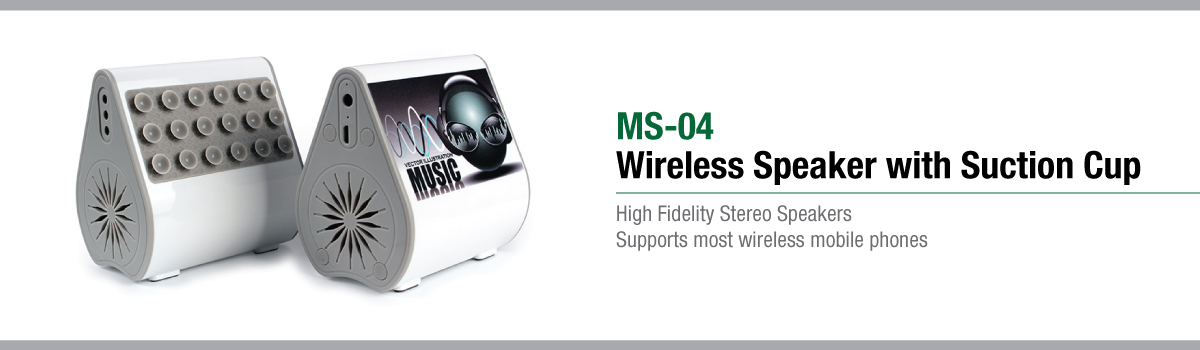 Wireless Speakers Banner