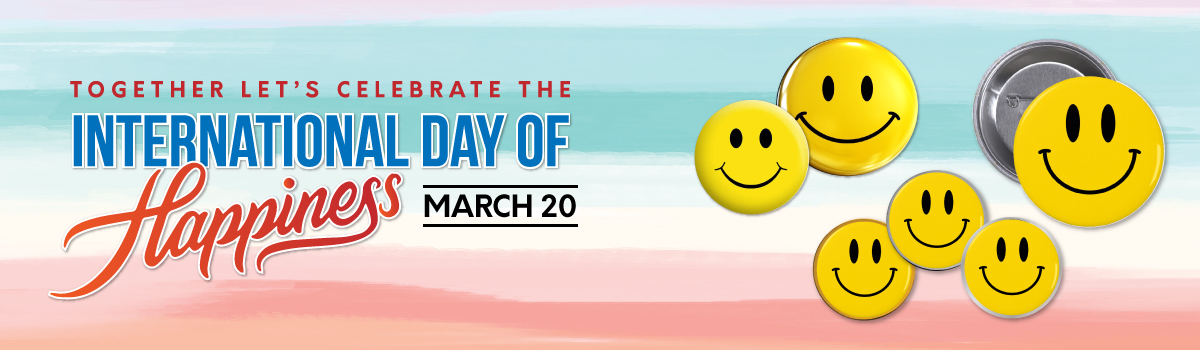 Happiness Day Banner