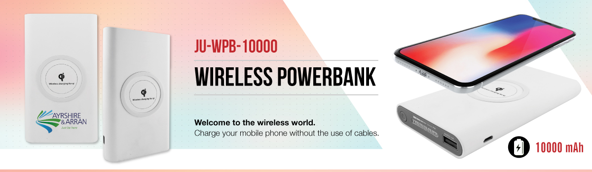 Wireless Powerbank Banner
