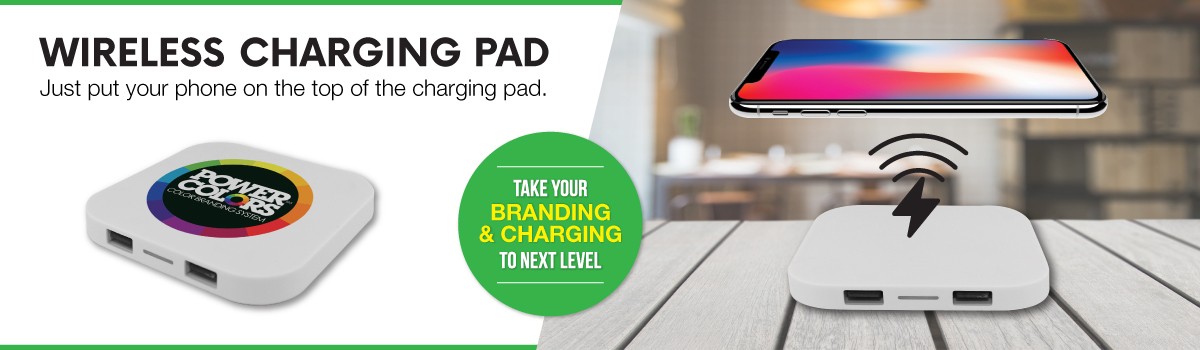 Wireless Charging Pad Banner