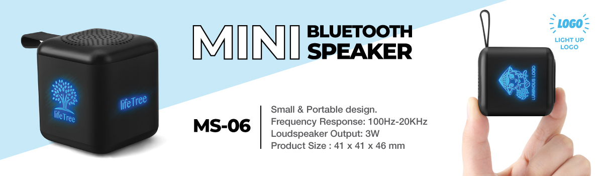 Mini Cube Bluetooth Speaker MS-06