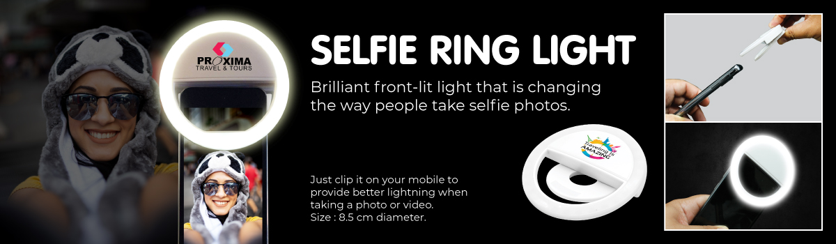Promotional Selfie Ring Light