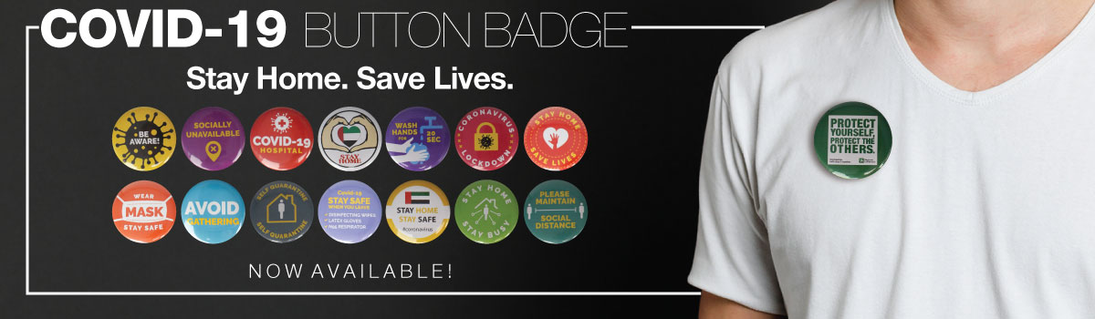 Covid-19 Awareness Badges