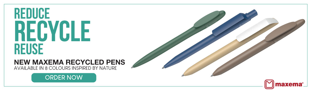 Maxema Recycled Pens