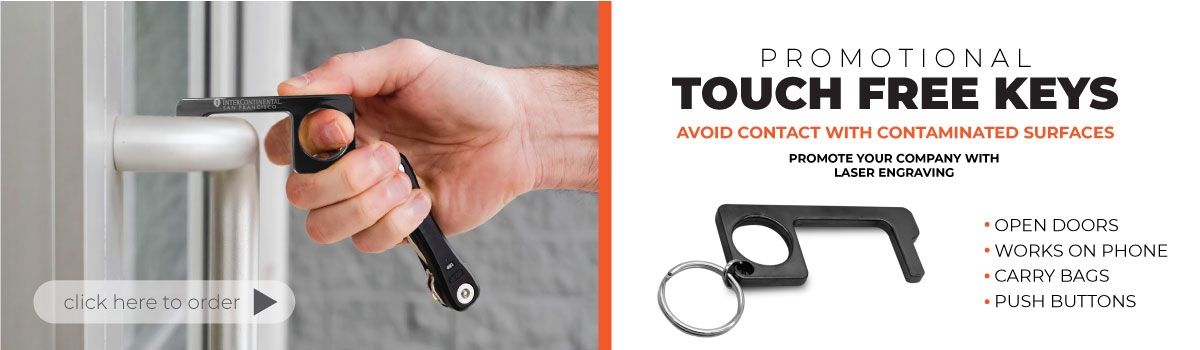 Promotional Touch Free Keys