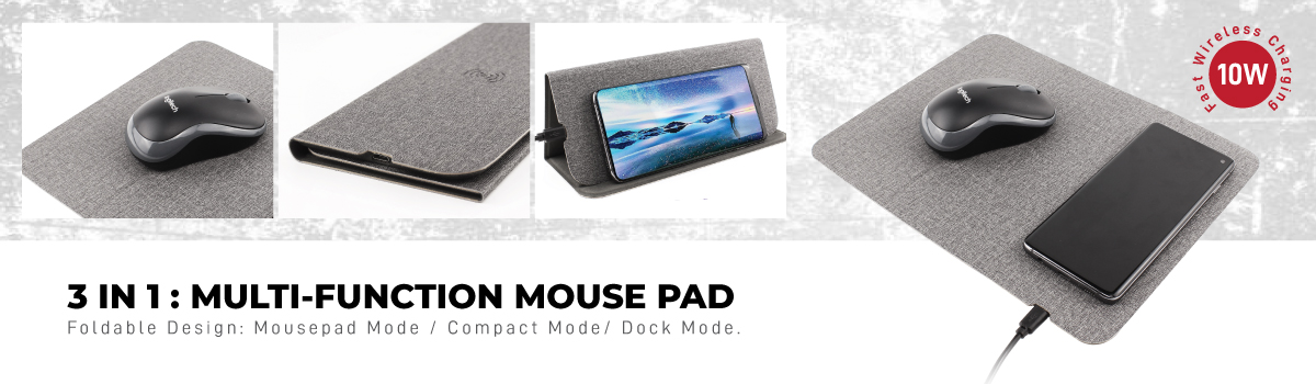 3 in 1 Mousepads