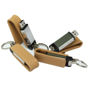 USB Flash Drives with Key Holders
