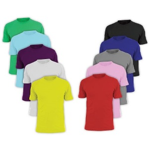 Promotional Cotton T-shirt Color