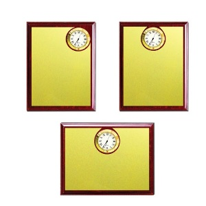 Wooden Plaques with Clock -1231