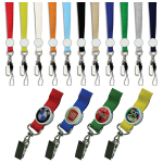 Logo Lanyard with Printing and Epoxy - 15mm