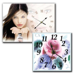Ceramic Wall Clocks 1 to 8
