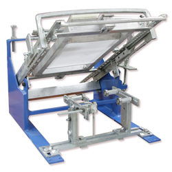 Curved Screen Printing Machine