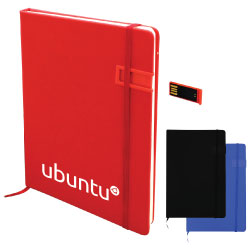 Notebook with USB Flash Chip