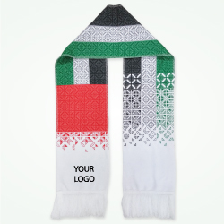 National Day UAE Flag Design Scarf