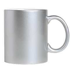 Sublimation Mugs in Silver Color