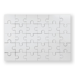 Puzzles in Hardboard Material