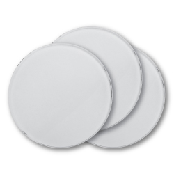 Round Glass Tea Coasters
