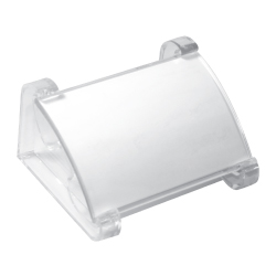 Transparent Desk Sign Holder