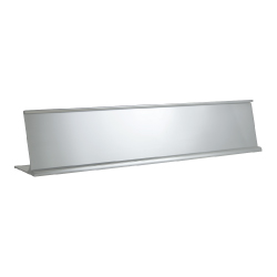 Desk Sign Holders Silver DSH-11