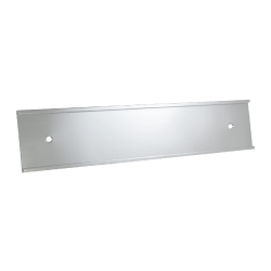 Wall Sign Holders Silver