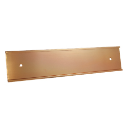 Wall Sign Holders Bronze Matte