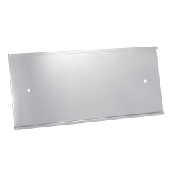 Wall Sign Holder - Silver