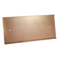 Wall Sign Holder - Bronze Matte