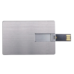 Promotional Aluminum Card USB Flash Drives
