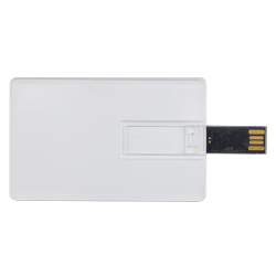 Promotional Transparent Card USB Flash D