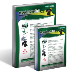 MagicTrans Jet  Dark Transfer Papers