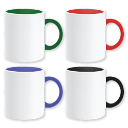 Mugs in White Color