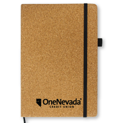 A5 Size Cork Notebook