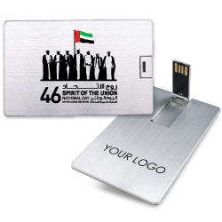 National Day Aluminum Card USB Flash