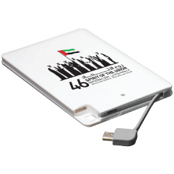 National Day Card size Power Bank