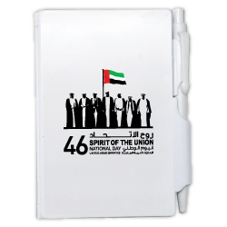 National Day PVC Hard Cover Notebook