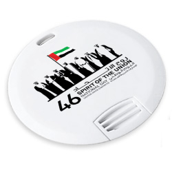 National Day Mini Round Card USB Flash