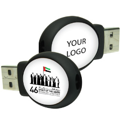 National Day Oval Shape USB