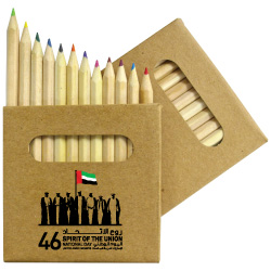 National Day Logo Color Pencils Pack