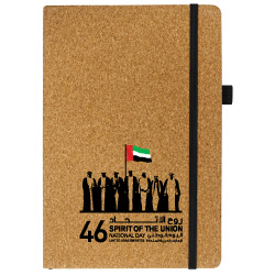 National Day Cork Notebooks