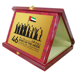 National Day Wooden Plaques with Box