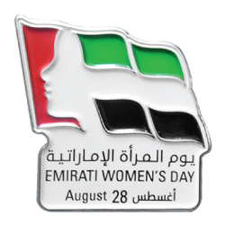 Emirati Womens Day Badges